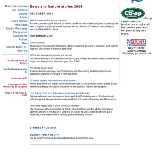 Monitor 2004 - Issue 2 Vol. 14
