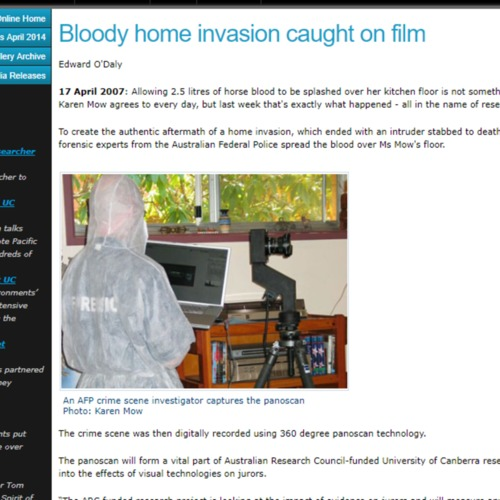 Bloody Home Invasion Caught on Film